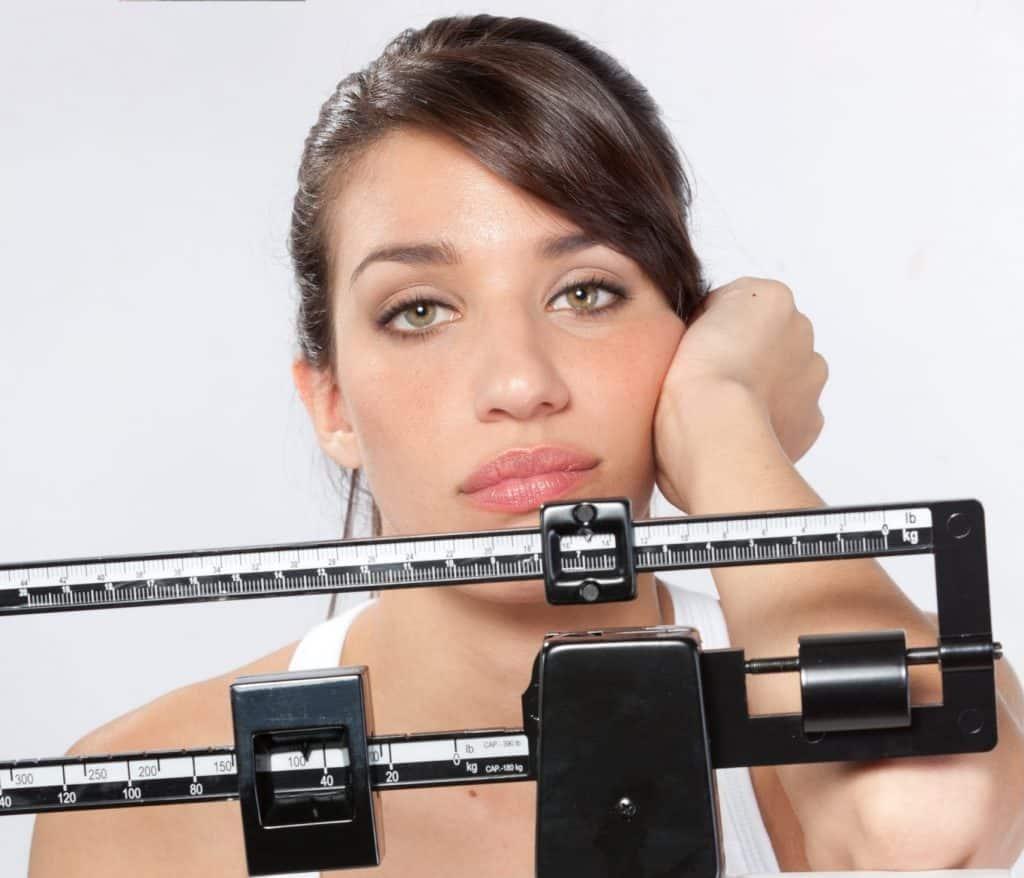 עצירה במשקל אחרי ירידה
