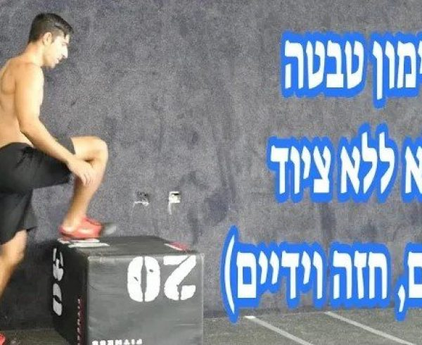 אימון טבטה מלא ללא ציוד לחיטוב שרירי הרגליים, החזה וידיים (חלק 1)