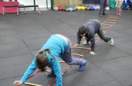 אימון כושר לילדים ברחובות