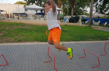 אימון כושר לילדים ונערים