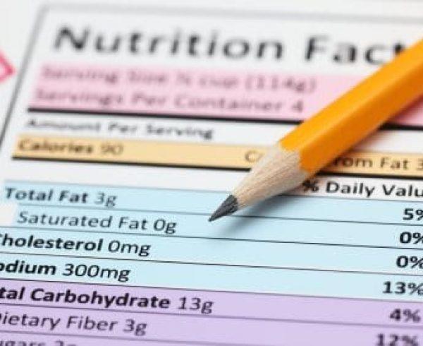 תפריט תזונה לדוגמא – 2000 קלוריות